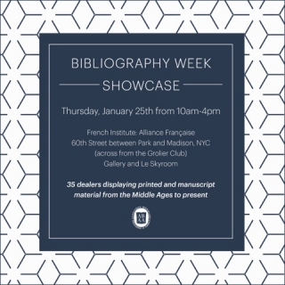 ABAA Bibliography Week Showcase