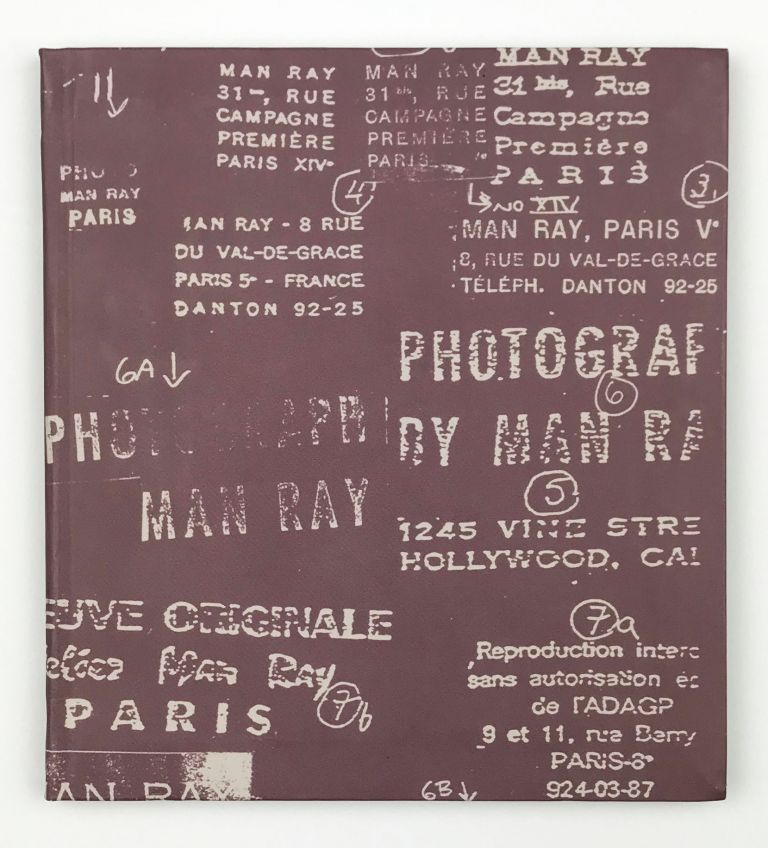 Behind the Photo: 42 Man Ray Stamps. Man Ray, Steve Manford.