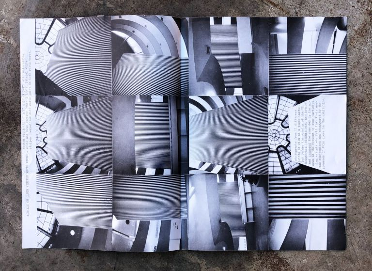 """""""...one of the characteristics of the proposition is to reveal the 'container' in which it is sheltered.""""Art & Project Bulletin 40. Daniel Buren."""