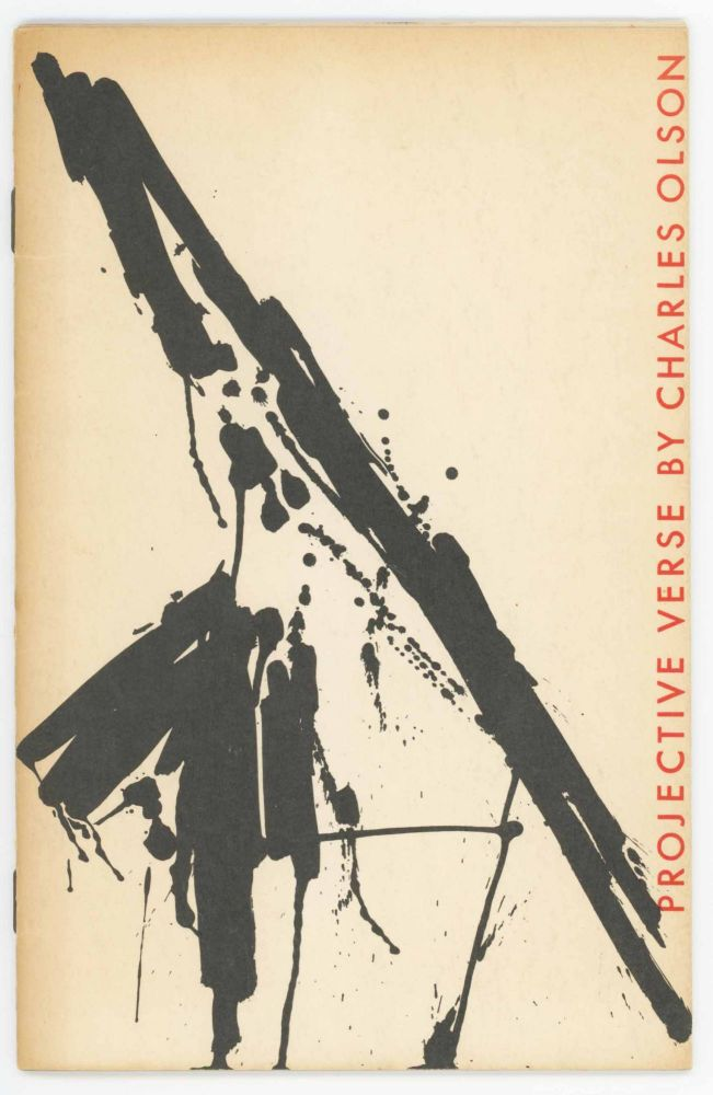 Projective Verse. Charles Olson.
