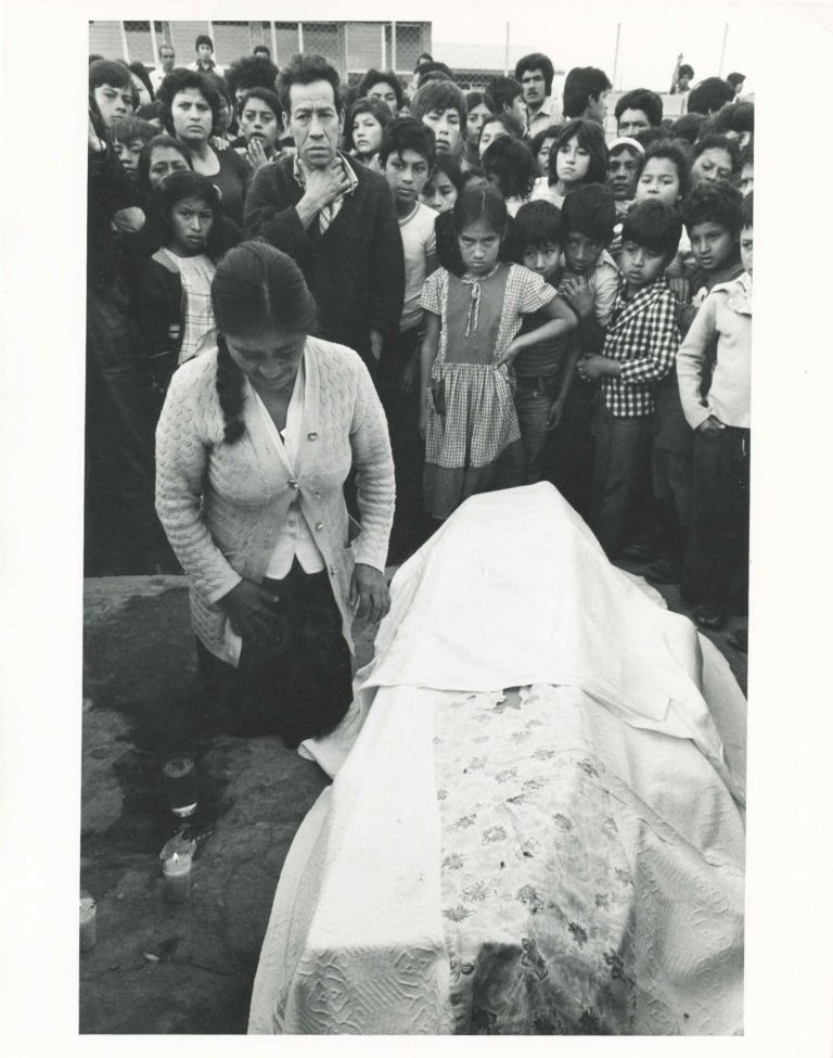 Guatemala Funeral of Luis Alberto G. Morales a Self-Help Community Worker Murdered for his Work [Photograph]. Susan Meisalas.