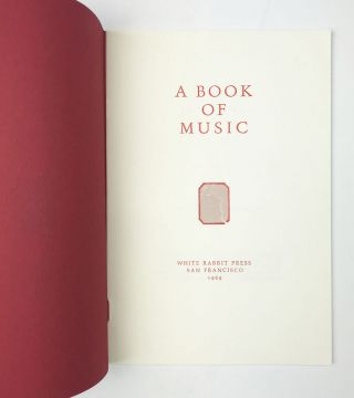 A Book of Music