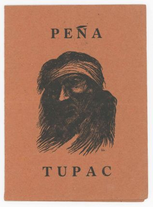 Menu for the Tupac Peña. Arbio, José Fernandez.
