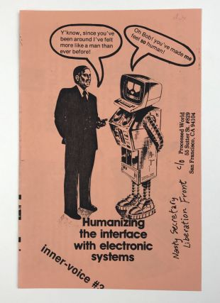 Program Cover for the 1982 Office Automation Conference. Processed World