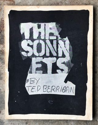 The Sonnets. Ted Berrigan
