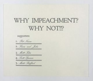 Why Impeachment? Why Not!!? Zephyrus Image