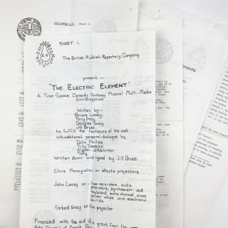 Collection of Ephemera Related to The Electric Element