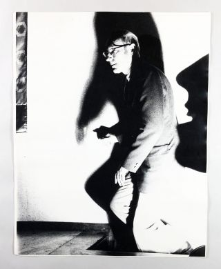 Untitled Photograph of William S. Burroughs Descending A Staircase Into Darkness. William S....
