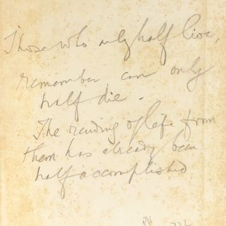 A South Sea Lover [Ex Libris Roger Casement, Inscribed to Herbert Ward, with Additional Text]....