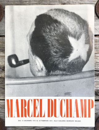 66 Creative Years [Exhibition Announcement & Publication Prospectus]. Marcel Duchamp
