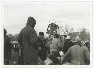 Collection of Snapshots and a Brochure from the November 15, 1969 March on Washington