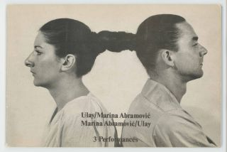 Relation / Works. 3 Performances. Marina / Ulay Abramovic