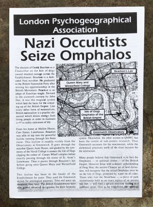 Nazi Occultists Seize Omphalos. London Psychogeographical Association