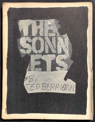 The Sonnets. Ted Berrigan, Joe Brainard