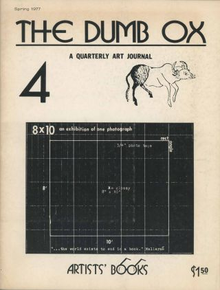 The Dumb Ox no. 4. James Hugunin, eds Theron Kelly, Ed Ruscha