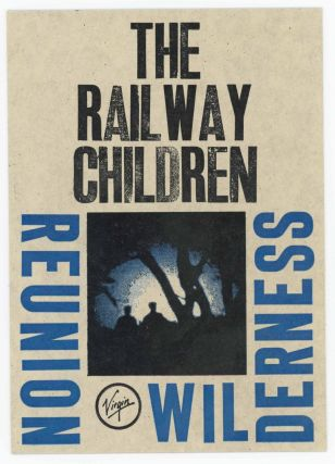 Letterpress Postcard for Reunion Wilderness by the Railway Children. Railway Children. Bruce Licher